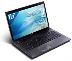 Ordinateur portable Acer TravelMate 7750 écran