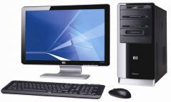 """PC de bureau HP 500B MT avec Ecran 20"""""""