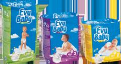 Couches bébés Evy baby