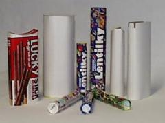 Machines pour la fabrication de tubes cylindriques