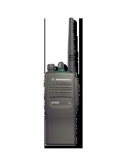 Radiocommunication MOTOROLA GP340 : Le poste pratique