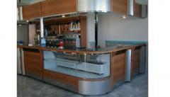 Cafeteria Silver Avec Vitrine Angulaire