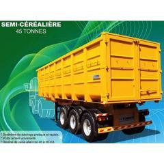 Semi-remorque Benne Cerealiere 45 T
