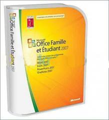 Logiciel Office familiale 2007 orirgi 3postes