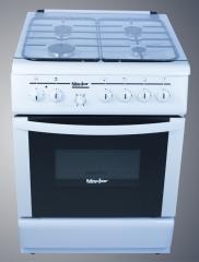 Cuisinière Maxtor à 4 feux blanche 700