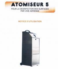 Produits + appareils d'hygiène hospitalière et désinfection nosocomiale