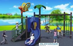 Toboggan pour aire de jeux et espace public
