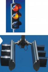 إشارات المرور الضوئية والإنارة العامة