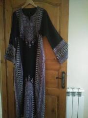 الثوب الأردني والفبسطيني المطرز