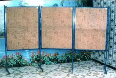Tableaux d'affichages modulable en liège à