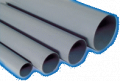 Les tubes en PVC.