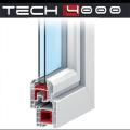 Système menuiserie PVC - (TECH 4000)