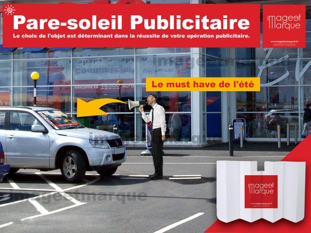 طلب Pare-soleil Auto publicitaire
