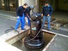 Maintenance des pompes industrielles