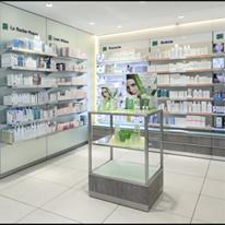 Agencement pharmacie moderne
